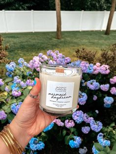Enjoy the soothing scent of lemongrass + bergamot with one of our Mermaid Daydream candles or bath bombs today! Jewelry Candles, Bergamot, Lemon Grass, Bath Bombs, Daydream, Are You The One, Mermaid, Lemon Balm, Bath Fizzies