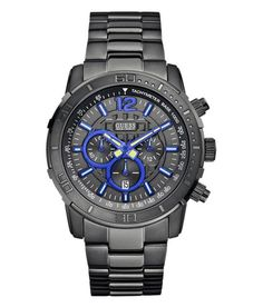 Guess Brickhouse Mens Chronograph Watch for sale online Gents Watches, Sport Watches, Watches For Men, Stainless Steel Watch, Stainless Steel Bracelet, Seiko, New Jersey, The Buckle Store, Watch Sale