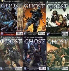 Ghost comics... the complete set... must... have!