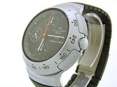 IWC Porsche Design Aluminum Chronograph ref. Amazing Watches, Beautiful Watches, Cool Watches, Watches For Men, Big Watches, Timex Watches, Porsche Design, Iwc, E 10