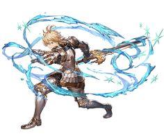 File:Romeo (Event) B. Anime Fantasy, Fantasy Kunst, Fantasy Art, Character Concept, Character Art, Concept Art, Granblue Fantasy Characters, Anime Krieger, Epic Characters
