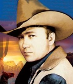 Tex Ritter ...  Actor in 1930-50s westerns and singing cowboy ...
