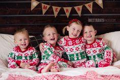 sibling christmas pajamas