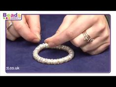 Jewellery Making- SWAROVSKI Elements crystal elastic bracelet- How to make your own | Beads Direct