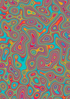 Retro Wallpaper Discover Psychodelic textures Psychodelic textures on Behance Bedroom Wall Collage, Photo Wall Collage, Picture Wall, Trippy Wallpaper, Retro Wallpaper, Hippie Wallpaper, Art Hippie, Hippie Trippy, Psychadelic Art