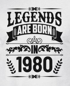 Birthday 1980 legend Men's Premium T-Shirt 40th Birthday Quotes For Women, 40th Birthday Cakes For Men, 40th Birthday Themes, 40th Bday Ideas, Birthday Decorations For Men, 40th Birthday Cards, Happy 40th Birthday, Birthday For Him, 40th Birthday Sayings
