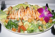 Chicken Caesar Salad #GourmetSalad #Luncheon #Showers #LaurelManor #MichiganCuisine