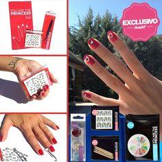 You Are The Princess Nails - Exclusivos Bodybell #nailart #nails #uñas #beauty