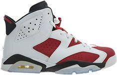 official photos a9ea8 40dad Nike Air Jordan 6 Retro, Chaussures de Sport Homme, BlancRougeNoir
