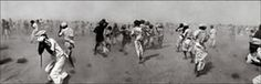 Raghu Rai: Dust Storm Created by a VIP helicopter, Rajasthan by Raghu Rai, 1975