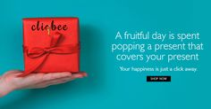 A fruitful day is spent popping a present that covers your present. #Happiness #cliqbee
