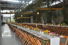 Long Tables Celebrating the Farm to Table   Benefit for The Children's Scholarship Fund Philadelphia at URBN {Design: TableArt}