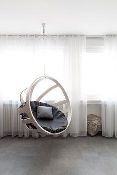 Ausgefallene Designer Schaukel Zum Aufhangen Lionel Doyen | The 96 Best Interiors Swinging Chairs Images On Pinterest Bench