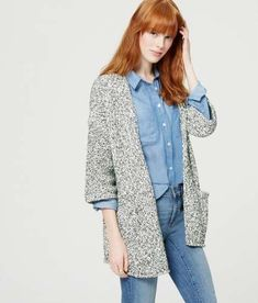 647a37085465f6 42 Trendy Ideas For How To Wear Kimono Cardigan Wardrobes #howtowear  Chambray Top, Fall