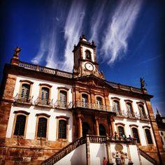O Museu da Inconfidência ocupa a antiga Casa de Câmara e Cadeia de Vila Rica da cidade de Ouro Preto (MG). É dedicado à preservação da memória da Inconfidência Mineira (1789), importante movimento pela Independência do Brasil. Foto: @andandoporai
