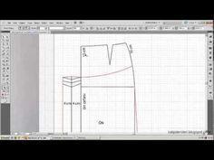 model uygulamalı etek 5 / The model applied skirt pattern 5