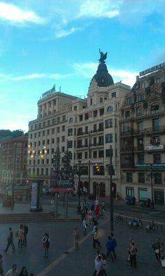 Basque Country, Bizkaia, Bilbao, Arriaga Theater Place