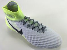 f96926bd2efa SR4U White Premium Soccer Laces on Nike Magista Obra 2 Motion Blur Pack  Nike Magista Obra