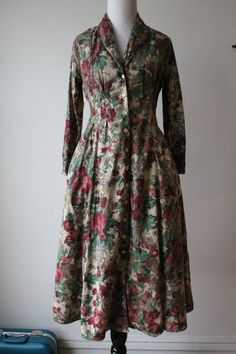 Vintage Tapestry Dress by WeHadATime on Etsy, $42.00