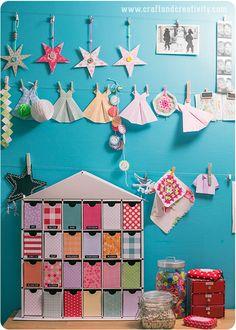 Återbruk av adventskalender – Reuse of Christmas calendar