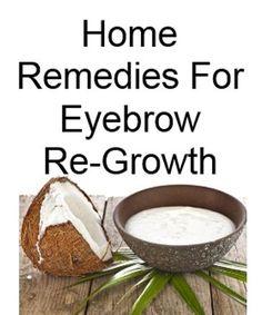 eyelash/ eyebrow growth remedies