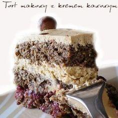Polish Desserts, Polish Recipes, Polish Food, Sweet Recipes, Cake Recipes, Dessert Recipes, Torte Cake, Sweet Cakes, No Bake Cake
