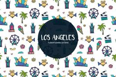 Los Angeles Vector Free Pattern is a high-quality set of thematic drawings. All of them are connected with the popular city - Los Angeles. Free Instagram, Instagram Story, Free Vector Graphics, Vector Art, Vector Pattern, Free Pattern, Website Design Layout, Instagram Highlight Icons, Story Highlights