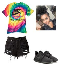 """""""Untitled #132"""" by najahp ❤ liked on Polyvore featuring NIKE"""