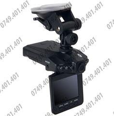 """Poze Camera Auto HD DVR 720p, ecran LCD 2,5"""" rotativ 180°, NightVision, Senzor miscare, Pornire automata"""