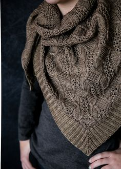 12 Shawls to Knit this Fall - knitting accessory , 12 Shawls to Knit this Fall 12 Shawls to Knit this Fall - Wooly Ventures Stricken. Knit Or Crochet, Bead Crochet, Crochet Shawl, Loom Knitting, Knitting Patterns Free, Knit Patterns, Knitting Needles, Knitting Scarves, Scarf Knit