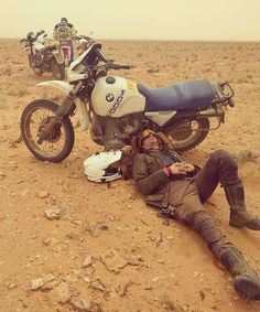 . @isidoror #ScramAfrica16 Motorpool Armored Jeans www.uglybrosusa.com/shop . #uglybros_usa #uglybrosusa #ubusa #motorcycle #caferacer #scrambler #bmwr100gs #bmw #r100