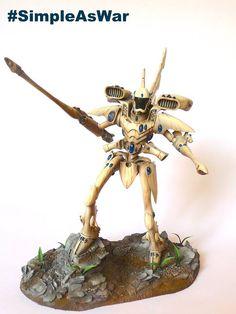 Eldar Revenant Titan (Forge World) #40k #wh40k #warhammer40k #40000 #wh40000 #warhammer40000 #forgeworld #gamesworkshop #wellofeternity #eldars #wargaming #wargame