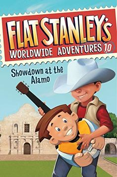 Flat Stanley's Worldwide Adventures #10: Showdown at the Alamo by Jeff Brown http://www.amazon.com/dp/0062189875/ref=cm_sw_r_pi_dp_e1GWwb1YSPT10