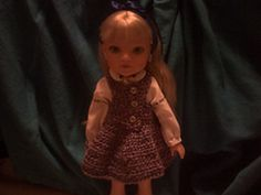 Ravelry: Simple Doll Dress pattern by Heather Lane - Free crochet pattern for 14 in doll