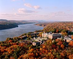 Culinary Institute of America - Hudson Valley New York.  I believe my Mary will graduate from here:)