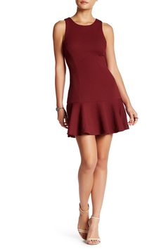 Textured Drop Flounce Dress by ASTR on @nordstrom_rack