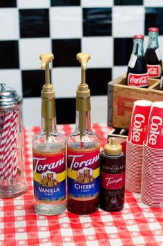 50's Diner Soda Shop Retro Birthday Party Birthday Party Ideas | Photo 10 of 32 | Catch My Party