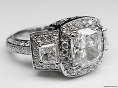big diamonds engagement ring - My Engagement Ring
