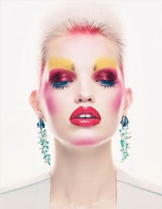 Daphne Groeneveld for Vogue UK - November 2012. Photographed by Patrick Demarchelier for the Editorial: 'Mix Master'