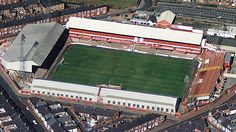 Roker Park-former ground of Sunderland FC English Football Stadiums, British Football, European Football, Soccer Stadium, Sport Football, Sunderland Afc, Watford Fc, Victorian Buildings, Association Football