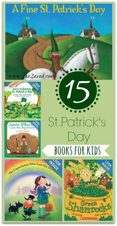 15 St. Patrick's Day Books for Kids from She Saved.