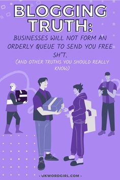 Businesses will NOT form an orderly queue to send you free sh*t ... and 7 other Brutally Honest Truths About Blogging All New Bloggers Should Read | UKWordGirl | #Blogging #BloggingForBeginners | How to Start a Blog | Honest Blogging | Work With Businesses | Blog Marketing | Blog Strategy Brutally Honest, Blogging For Beginners, How To Start A Blog, Need To Know, Truths, Writing, Marketing, Reading, News
