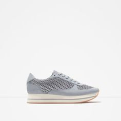 Image 1 of MESH SNEAKERS from Zara