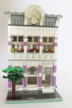 Építési naplók - LEGO Ruhásüzlet - moduláris ház | Kockashop