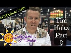 all about distress crayons Tim Holtz Part 2 #CHAshow 2016