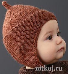 Детская шапочка спицами из Phildar » Ниткой - вязаные вещи для вашего дома, вязание крючком, вязание спицами, схемы вязания