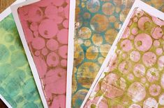 Tutorial for Gelli printing with homemade foam plates - I would love to learn how to do this Gelli Plate Printing, Stamp Printing, Screen Printing, Mix Media, Foam Stamps, Gelli Arts, Plate Art, Elementary Art, Art Tutorials