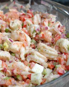 Recipe for Shrimp Salad . top 20 Recipe for Shrimp Salad . Shrimp Salad with Cilantro Mayonnaise – Laylita's Recipes Shrimp Salad Recipes, Seafood Salad, Shrimp Dishes, Fish Recipes, Seafood Recipes, Cooking Recipes, Healthy Recipes, Shrimp Salads, Shrimp Pasta