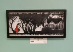Grimms Red Riding Hood Papercut by StudioCharley on Etsy, £95.00