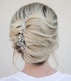 Super wedding hairstyles for long hair bridesmaid updo french twists ideas Twist Hairstyles, Bride Hairstyles, Pretty Hairstyles, Layered Hairstyles, Perfect Hairstyle, African Hairstyles, French Hairstyles, French Roll Hairstyle, Elegant Hairstyles